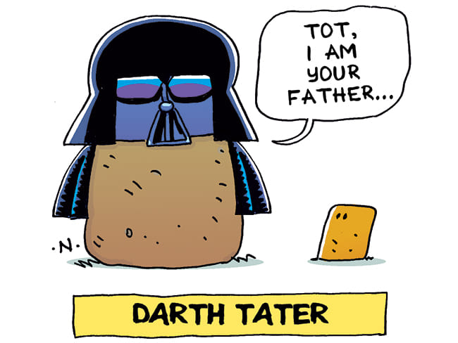 Darth Vader Potato