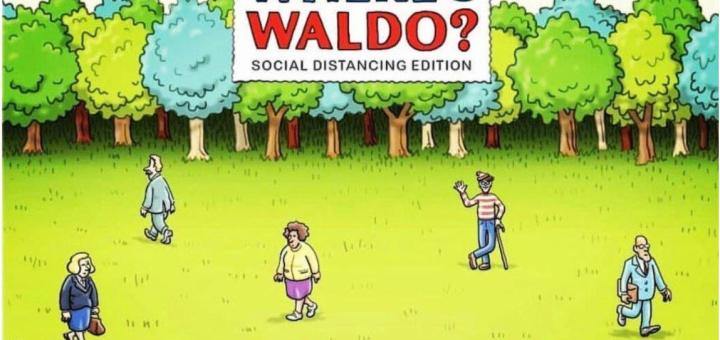 Where's Waldo Social Distancing Edition