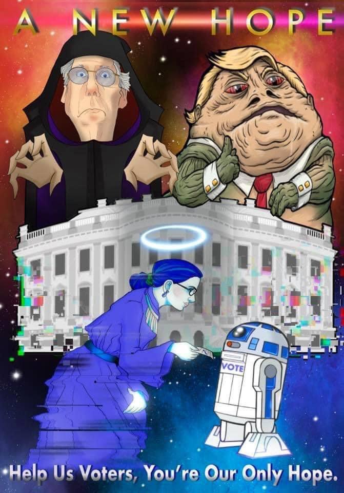 Trump Star Wars Parody