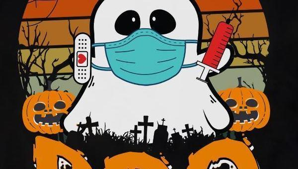 Ghost dressed as a nurse