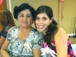 Con la abuela....