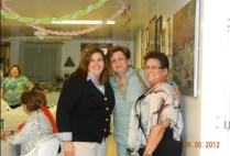 2012 con Laurita Villanueva y Tota Calzada