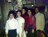 Bertha , José Antonio y sus tres hijos , en New York 1985