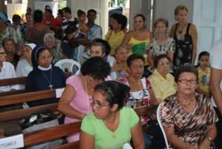 En la iglesia mi madre
