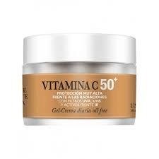 Gel Crema Diaria Vitamina C 50+ - Natysal - 50 ml