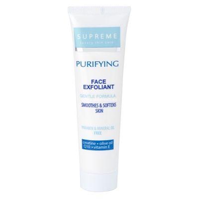 Crema Exfoliante Facial Con Q10 y Creatina - Supreme - 100 ml