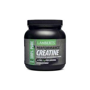 Creatina en polvo - Lamberts - 500 gramos