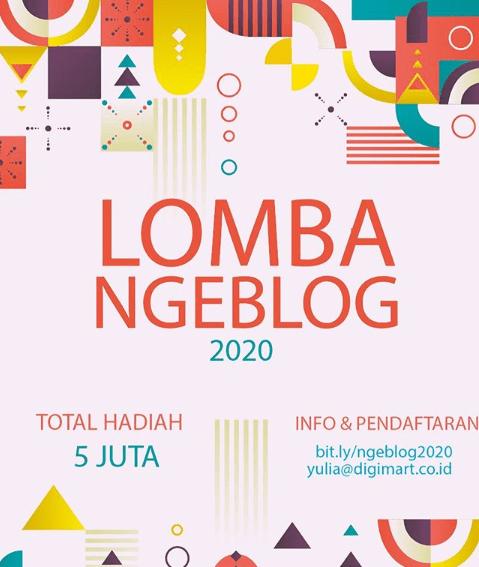 Lomba Blog 2020 Digimart Hadiah 5 Juta