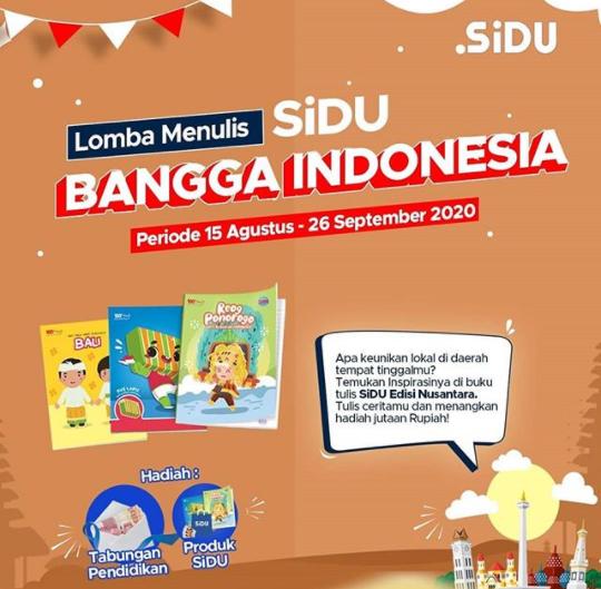 Lomba Menulis SiDU Bangga Indonesia