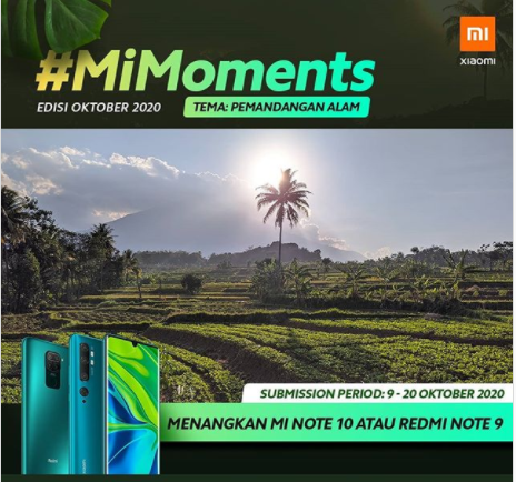 lomba foto xiaomi mimoments