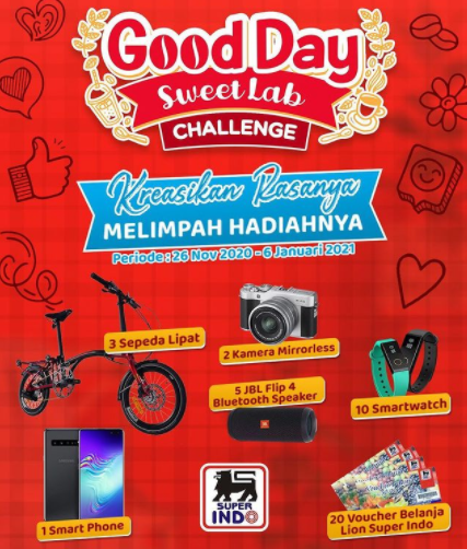lomba video goodday Sweet Lab Challenge