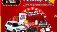 Undian Alfamart The Lucky Star Grandprize Mobil Toyota dan Modal Usaha 300 Juta