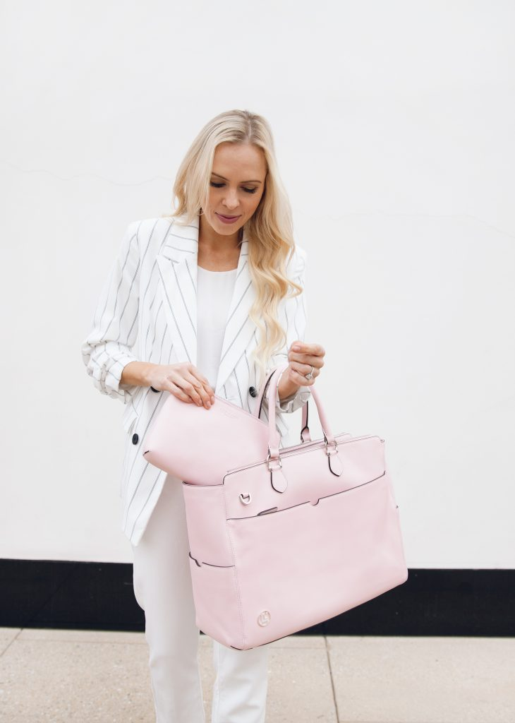 Constanza bag from Luna by Lavoie, perfect working mom bag