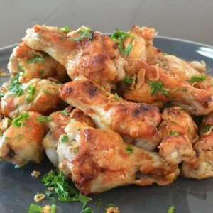 Chicken Wings Steamed