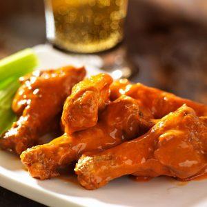 Steamed Chicken Wings
