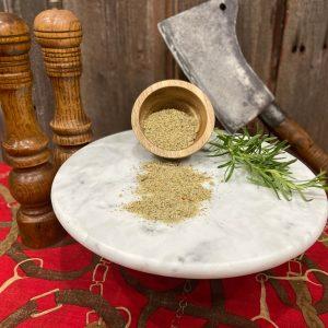 Rosemary Garlic Rub ~ The Ranch Signature Seasoning