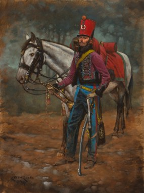 NLA - 2nd Regiment Horse Chasseurs, Trumpeter (Young Guard) - 1815