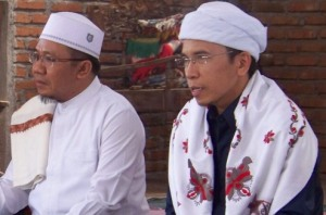 Gubernur NTB bersama H. najmul Akhyar