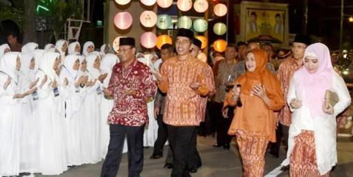 Jokowi Buka MTQ