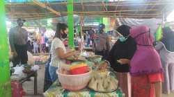 Satgas Kampung Sehat NTB 2 Lombok Utara Sisir Pasar Kecamatan
