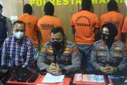 Jual Sabu, Tiga Kakak Beradik digerebek Polisi