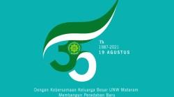 Download Logo Hari Ulang Tahun ke-35 UNW Mataram