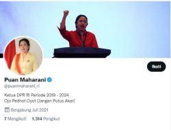 Akun Twitter Puan Maharani Cuma 1.314 Pengikut Tapi Centang Biru