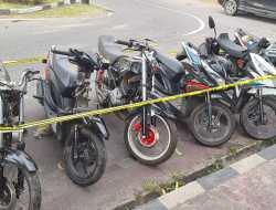 Persembunyian Motor Hasil Curian di Bilelando Ditemukan Polda NTB