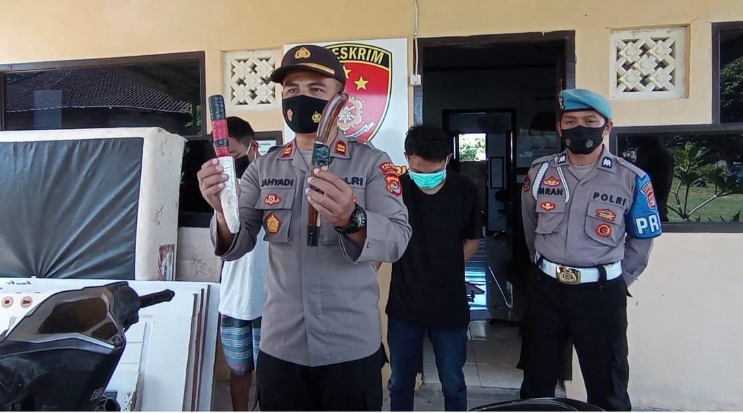Berusaha Jambret Handphone Seorang Remaja, Dua Pria Asal Lobar Hampir di Hakimi Masa
