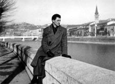 alfredo de palchi in Italia, 1953