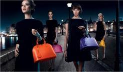 ipermoderno L'ultima fermata della campagna Chic on the Bridge Louis Vuitton ci riporta a Parigi