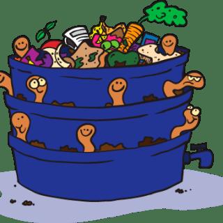 I nostri clienti, Ivana da Fermo: Posso aggiungere i lombrichi alla mia compostiera?