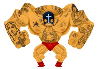 luchadore-jesus-christ-tattoo-wrestling-religion-pulp-fiction-mask-priest