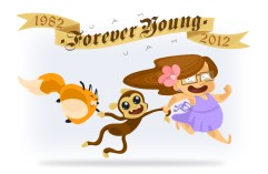 valeria-valetanto-forever-birthday-young-volpino-fox-renard-monkey-singe-scimmia-petit-cute-mignon-kawaii-furry-peluche-pretty-happy-friend-friends-friendship