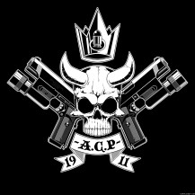 45-ACP-wallpaper-colt-1911-MEU-SOC-skull-demon-crown-bullet-surefire-tactical-light-tokyo-marui-airsoft-GBB-small-black