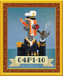 pxl-pixel-art-pixelart-robot-mecha-mech-capitaine-captain-pipe-cap-c4p1-10-sea-seashore-portrait-old-style-lombrik-pijamah-swagg-wordpress-ship-seagull
