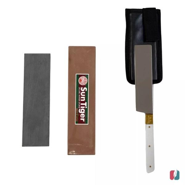 סכין שחיטה ואבן השחזה
