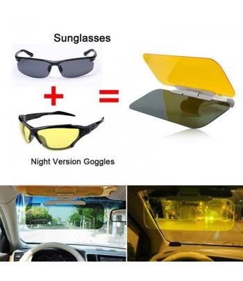 voiture anti eblouissement pare soleil extension hd jour nuit vision miroir pare soleil