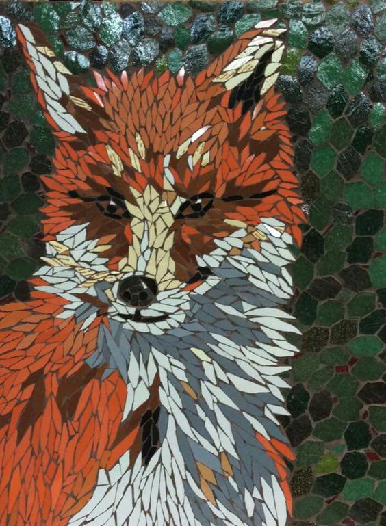 Mosaic Fox Art Http Lomets Com