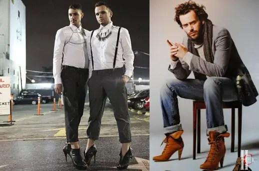 Tacones de aguja para hombres lo nuevo en la moda for Lo ultimo en moda para hombres