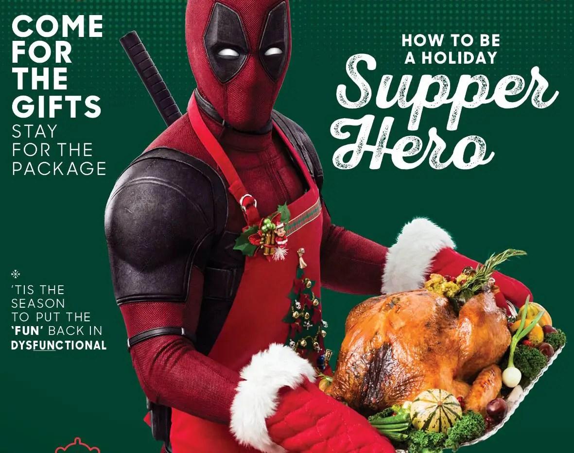 Lanzan primer poster de Deadpool 2
