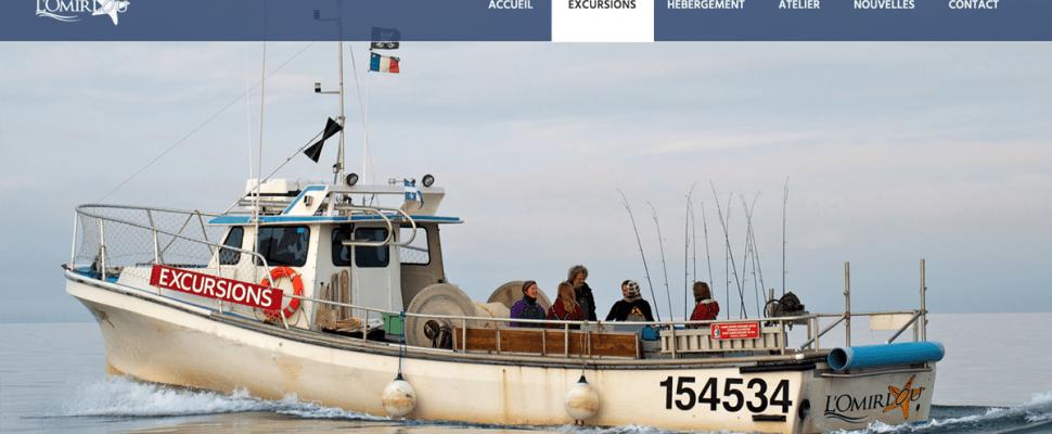 L'Omirlou EXCURSIONS Pêche Homard Maquereau Plie Crabe Gaspesie