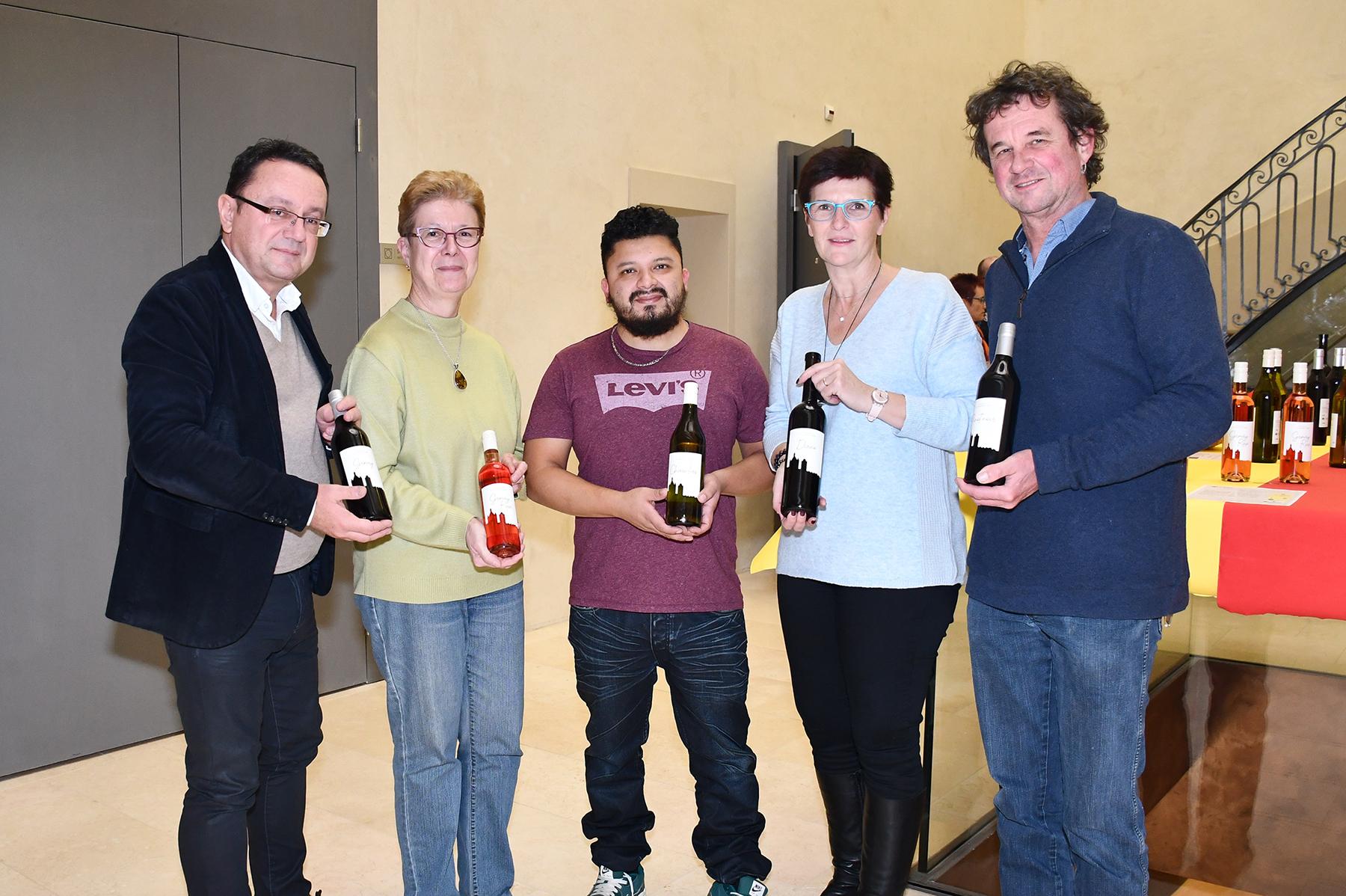 Caveau éphémère : Les vins de la commune en exposition
