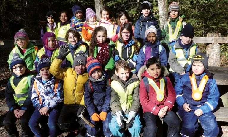 L'école à la forêt : Par tous les temps