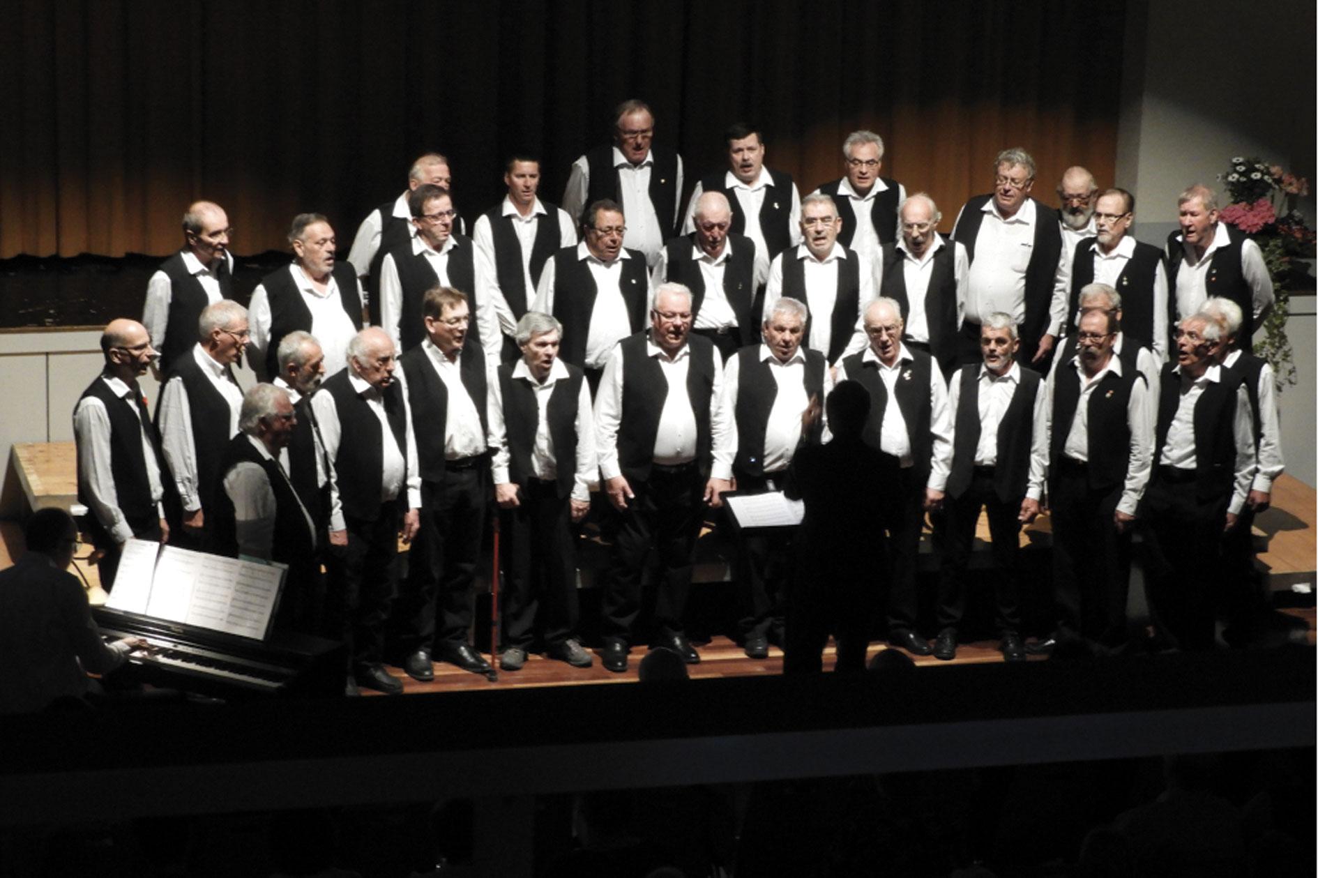 Giron Choral, chauds les choeurs