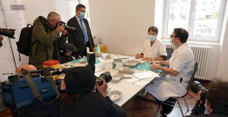Vaccination itinérante : Vallorbe, capitale éphémère de la seringue!