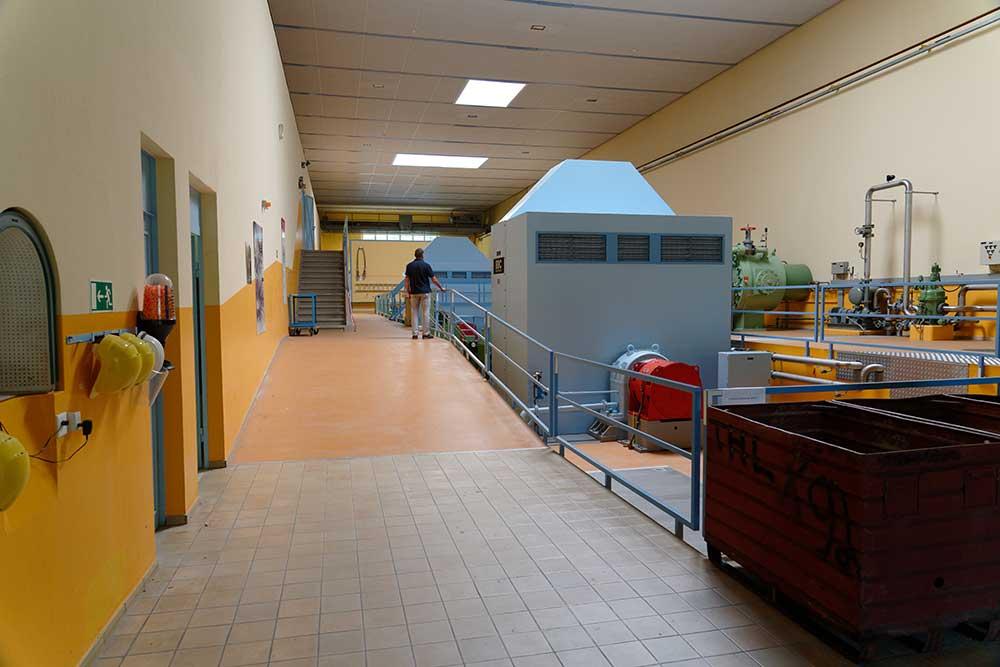 Visite de la centrale hydroélectrique de La Dernier