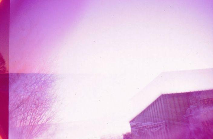 Doppelbelichtung in Pink, die Dritte.