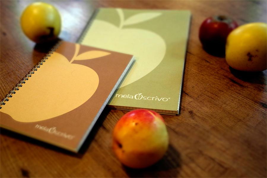 Frumats MelaScrivo® - zu Notizüchern verarbeitete Äpfel *