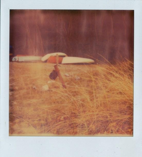 Polaroid Kamera + Impossible Film